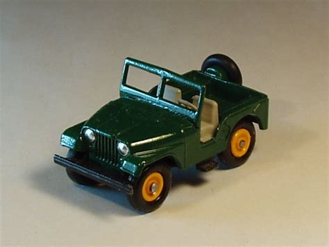 matchbox jeep matchbox lesney custom jeep cj jeep