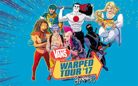 Vans Giveaway 2017 - vip ticket giveaway warped tour 2017 st petersburg fl vinoy park saturday
