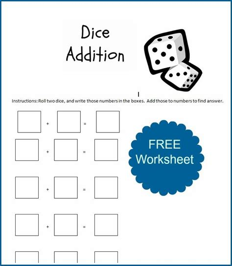 printable math games with dice 65 best images about dice on pinterest go math addition