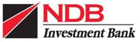 ndb bank investsrilanka sri lanka s securitisation deal by