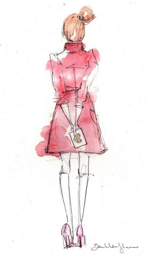 loooove sketches  cute   kate spade