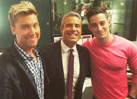 Lance Bass Boyfriend Attempt To Rekindle by Lance Bass Rejects Andy Cohen S Claim That They Had