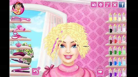 real hairstyles games barbie barbie real haircuts youtube