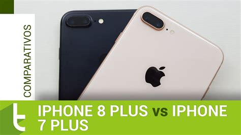 apple iphone 8 plus vs iphone 7 plus comparativo do tudocelular