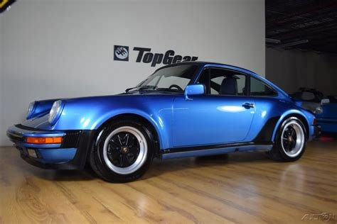 porsche 930 turbo blue 1988 porsche 930 911 carrera turbo for sale