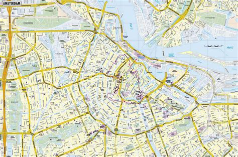 map of print large amsterdam maps for free and print high