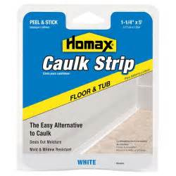How To Change Caulking Around Bathtub Homax Tub And Floor Caulk Strip Walmart Com