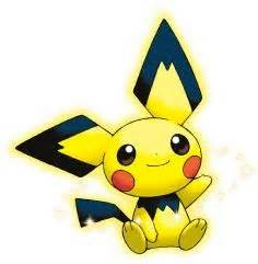 pikachu colored pichu the tale of the spiky eared pichu pikachu and