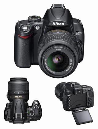 Kamera Nikon D5000 Kamera Nikon D5000 Ku Yang Canggih Platinum Pulsa