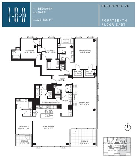 floor plans chicago a look at 100 w huron floor plans 100 w huron condos