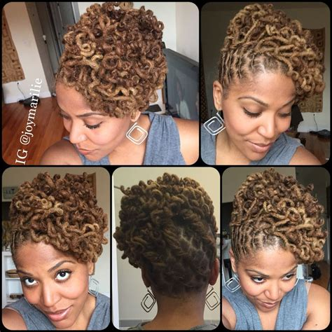 Dreadlock Pin Up Hairstyles by 205 Best My Loc Styles And Experiments Images On