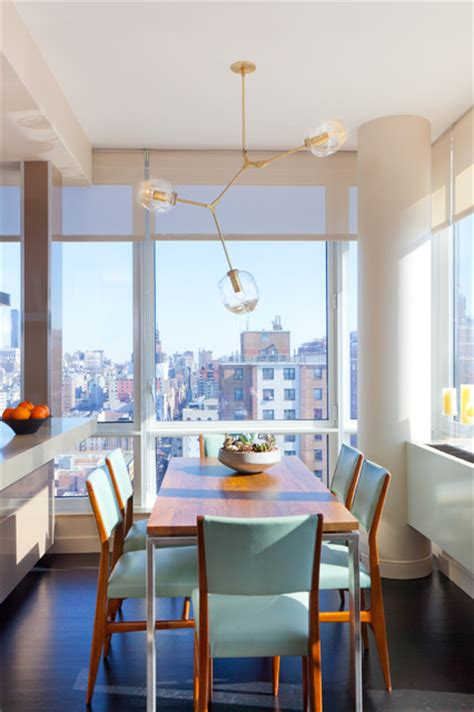 Modern Dining Room Nyc by Drew Mcgukin Interiors Chelsea Apartment