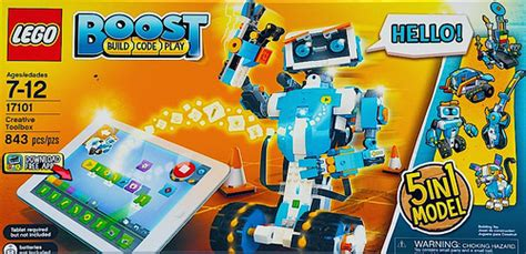 Lego 17101 Boost 5 In 1 lego boost creative toolbox 17101 product description