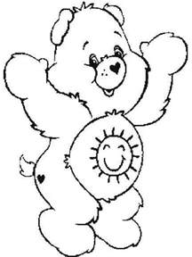 bears of color free printable care coloring pages for