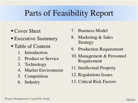 feasibility report sles feasibility report sles 28 images technical