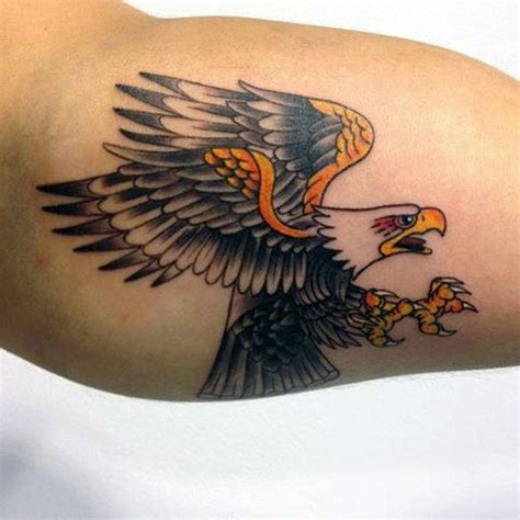 eagle tattoos for men 75 eagle tattoos for a soaring flight of designs