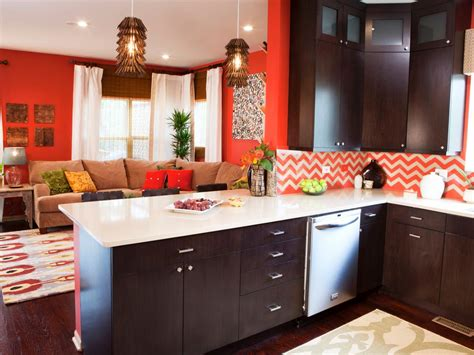 Living Room Kitchen Color Schemes by Best Colors To Paint A Kitchen Pictures Ideas From Hgtv
