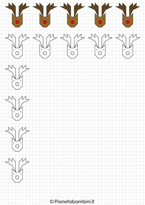 cornice di natale per bambini cornicette di natale a quadretti da disegnare e colorare