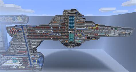 Gym Floor Plan Creator by Star Trek Uss Constitution 21 Decks Mc 1 2 5 Minecraft