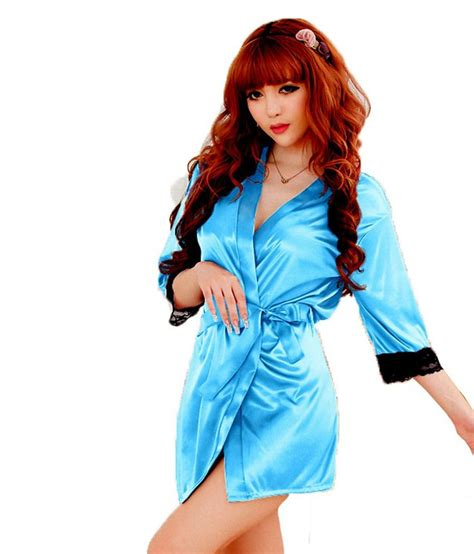 Dress Doly Kotak buy glam quotient blue satin baby doll dresses at best prices in india snapdeal