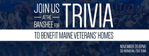 midnight riders trivia to benefit maine veterans
