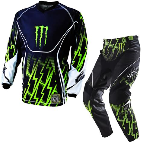 motocross gear monster energy details about oneal 2011 mayhem ricky dietrich monster