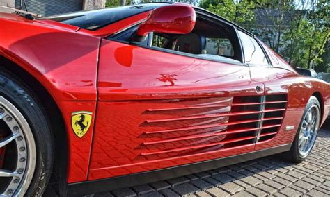 Ferrari 70er Jahre by Ferrari Testarossa Stilikone Der 80er Jahre Es Magazine
