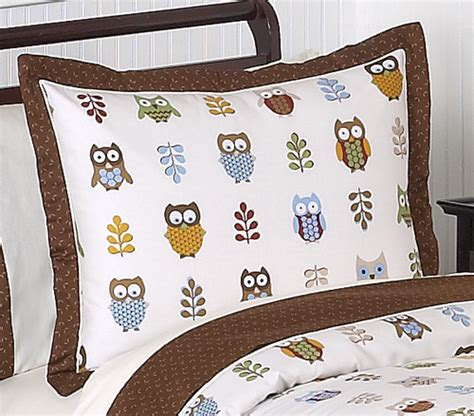 Boy Owl Crib Bedding Unique Designer Brown Blue Neutral Owl Theme 9pc Baby Boy Crib Bedding Set Jojo
