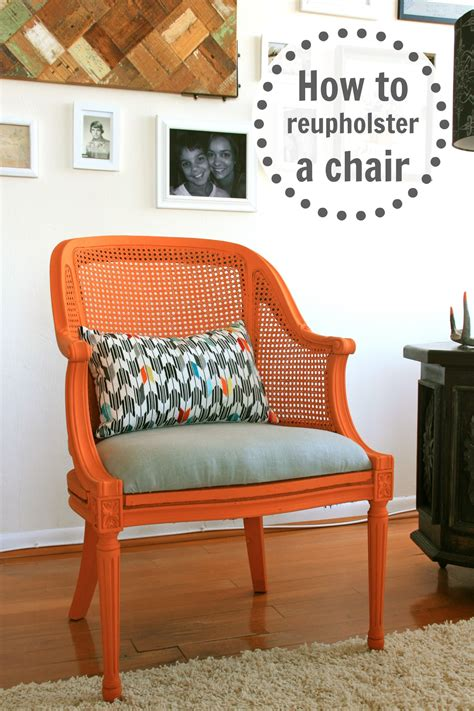 How To Upholster An Armchair by How To Reupholster A Chair Infarrantly Creative