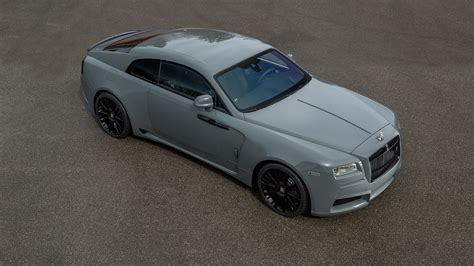 roll royce grey 717 hp and quot overdose quot body kit make for an ott rolls royce