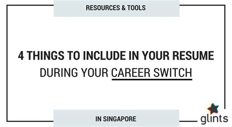switching your career in singapore here re 4 things to