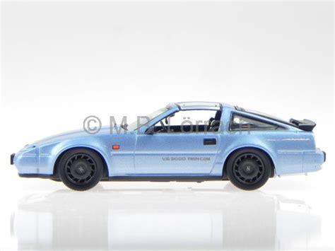 nissan fairlady 300 nissan fairlady 300 zr 1986 blue diecast model car 178020