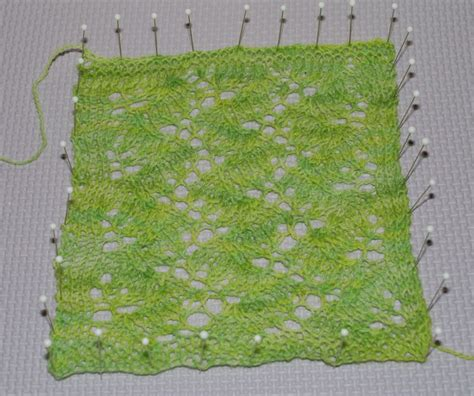 how to block lace knitting how and why to block lace