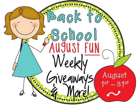 August Giveaway - august giveaways little minds at work
