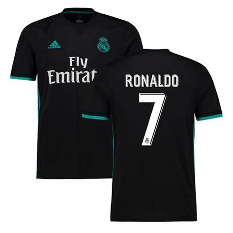 Jersey Bola 7 Ronaldo Real Madrid Third 17 18 Grade Ori Font Ucl adidas real madrid cristiano ronaldo 7 soccer jersey away 17 18 soccerevolution 174 soccer