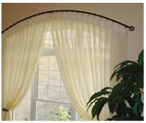 Arched Drapery Rods arched drapery rod around the house