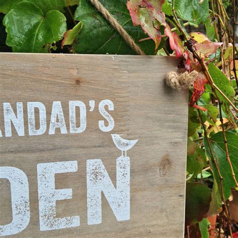 Garden Shed Signs Personalised by Personalised Garden Shed Sign By Delightful Living