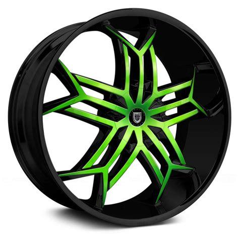 Handmade Wheels - lexani 174 tristo wheels custom painted rims