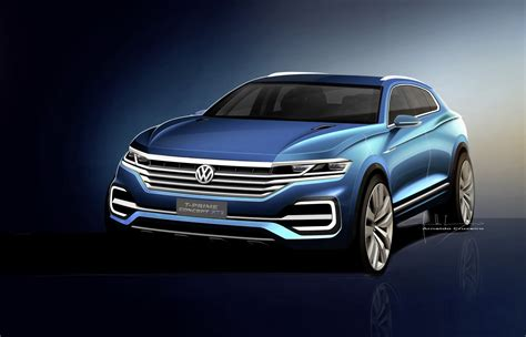 volkswagen bmw vw t prime concept gte previews new full size suv carscoops