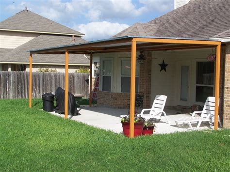 Aluminum Patio Roof by Metal Roof Covered Porch