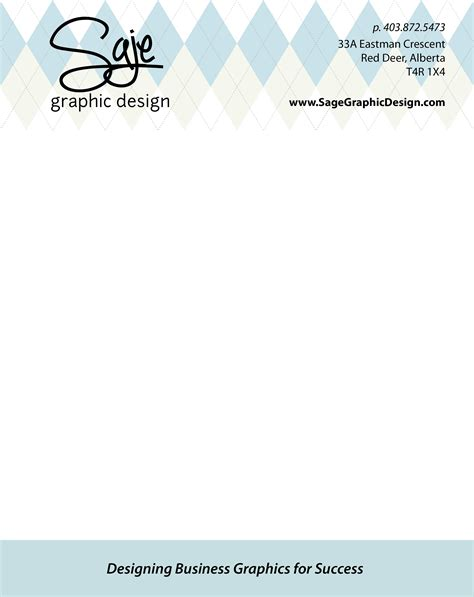 Graphic Design Business Introduction Letter letter saje graphic web design
