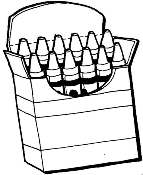 coloring pages crayon box crayons coloring pages 1 660