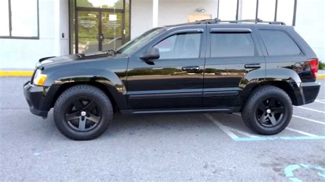 jeep grand cherokee black rims black 2008 jeep grand cherokee wk with black mamba mr 1