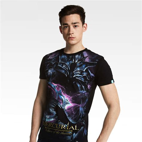 dota mercurial t shirts black defense of antients tees for