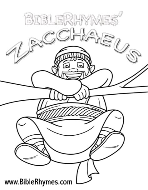 printable coloring pages zacchaeus free coloring pages of zacchaeus and jesus