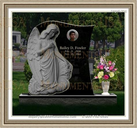 angel headstones