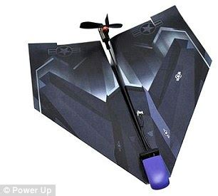 How To Make A Paper Propeller - the iphone controlled paper plane traditional gets