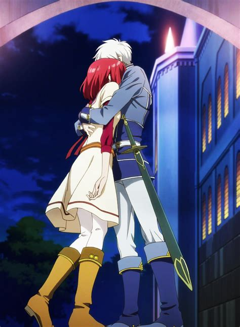 imagenes de zen y shirayuki akagami no shirayukihime images shirayuki and zen hd