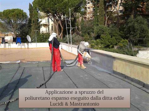 impermeabilizzazioni terrazzi poliuretano espanso a spruzzo impermeabilizzazione