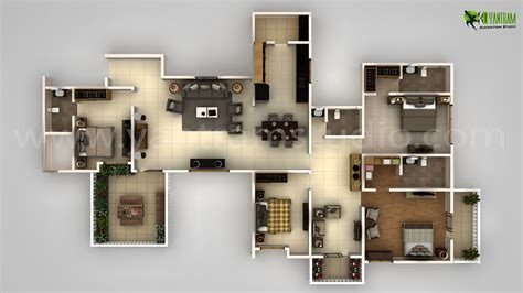 home design 3d 64 bits modern house 3d floor plan design on behance